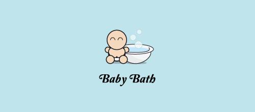 gravidez-banho-bebe