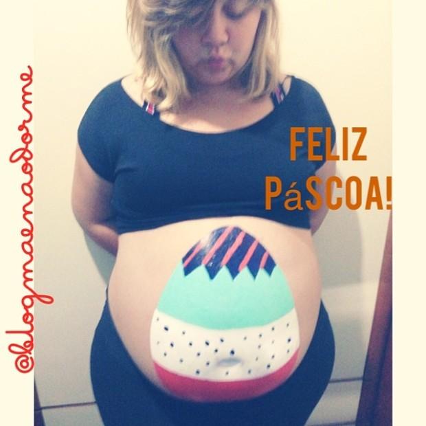 gravidez-desenho-barriga