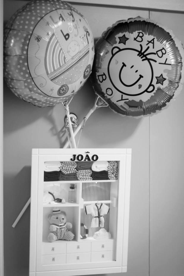 Balões que ganhamos de quem foi nos visitar