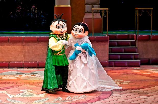 Mônica e Cebolinha no mundo de Romeu e Julieta