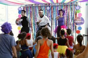 Bailinho de Carnaval no Pátio Alcântara