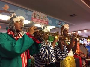 Bailinho Infantil de Carnaval no Américas