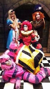 MUNDO DE ALICE teatro no Americas SHopping