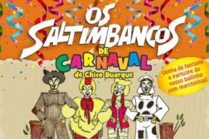 os saltimbancos de carnaval