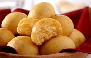 pao de queijo de mandioquinha