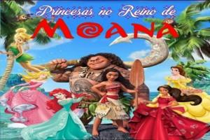 princesas no reino de moana