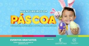 Layout Páscoa Shopping Grande Rio