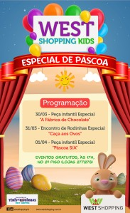 Layout Páscoa West Shopping