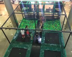 West Shopping anima a garotada com atração 'Detona Games Park'