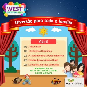 Layout West Shopping Kids Abril