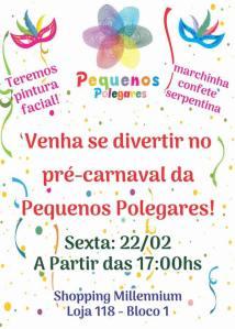 pre carnaval pequenos polegares roteiro carnaval infantil rio